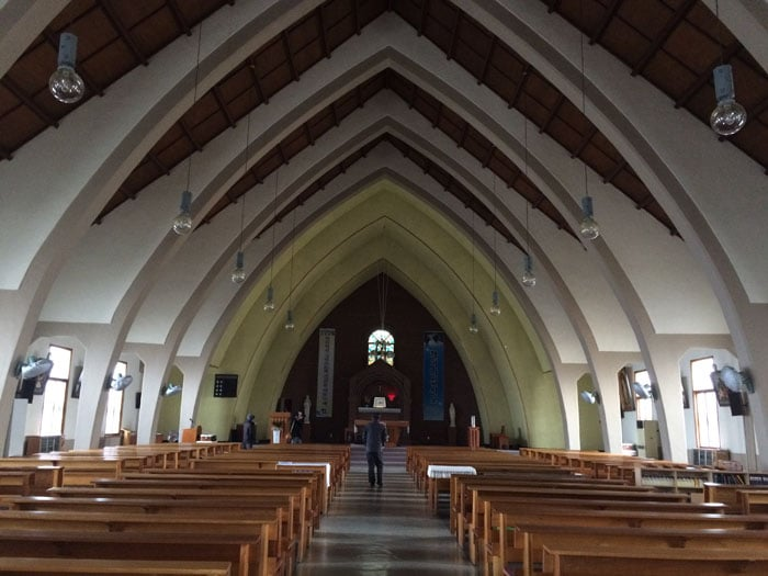 The Ganggyeong Catholic Church in Nonsan, Chungcheongnam-do Province, is officially designated a cultural asset on Aug. 25.