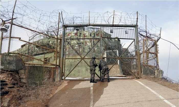 South Korea in 1953 built its first guard post on its eastern coast shortly after the two Koreas concluded the military armistice ending fighting in the Korean War. (Cultural Heritage Administration)