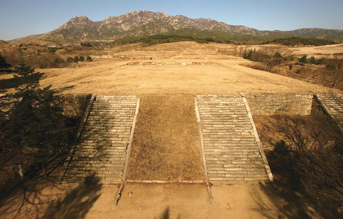 Manwoldae Palace in Gaeseong, North Korea, is where the joint excavation project is being conducted. (Cultural Heritage Administration)
