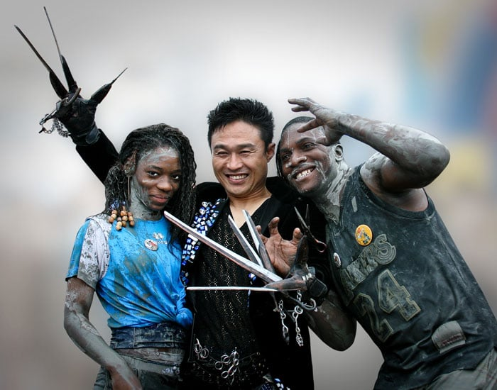 Visitors have fun at the Boryeong Mud Festival. This year's funfest is scheduled for July 17 to 26.
