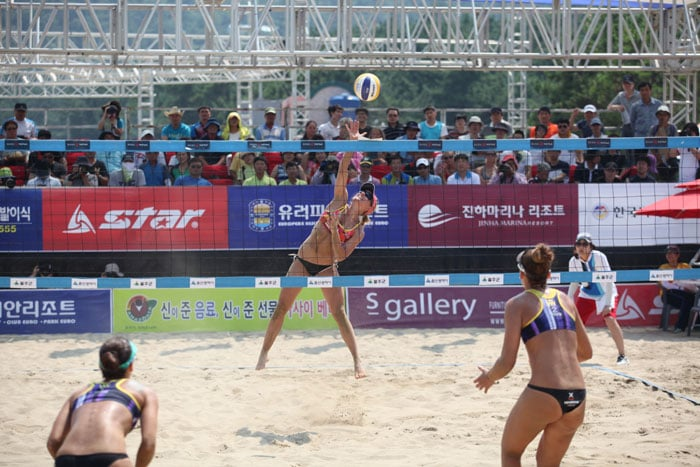 Jinha Beach will host the Beach Volleyball Korea Tour from July 22 to 25 this summer.