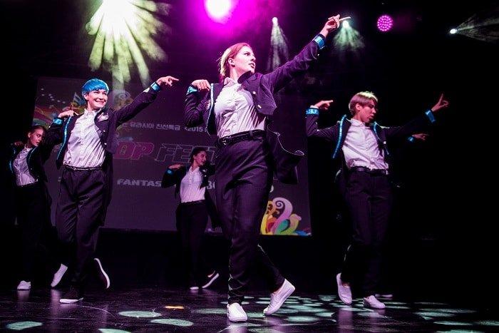 A total of ten teams danced in Warsaw's 2015 K-Pop Festival.