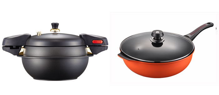 Poong Nyun's stone pressure cookers and woks take into consideration the food preferences of Chinese diners who love to eat dolsot bibimbap and stir-fried food.