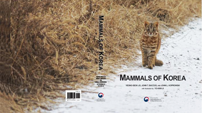 """Mammals of Korea"" is the first English-language guide on 127 mammal species on the Korean Peninsula"