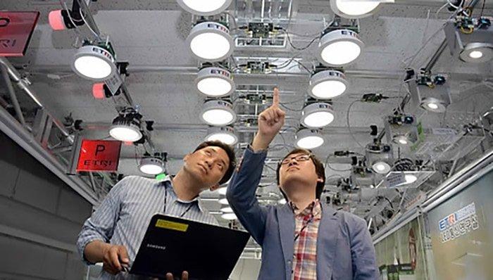 Korea pushes forward with 'Li-Fi' development