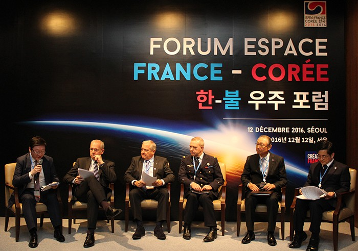 Seoul, Paris discuss future cooperation in space