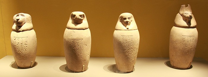 Canopic jars come to Seoul