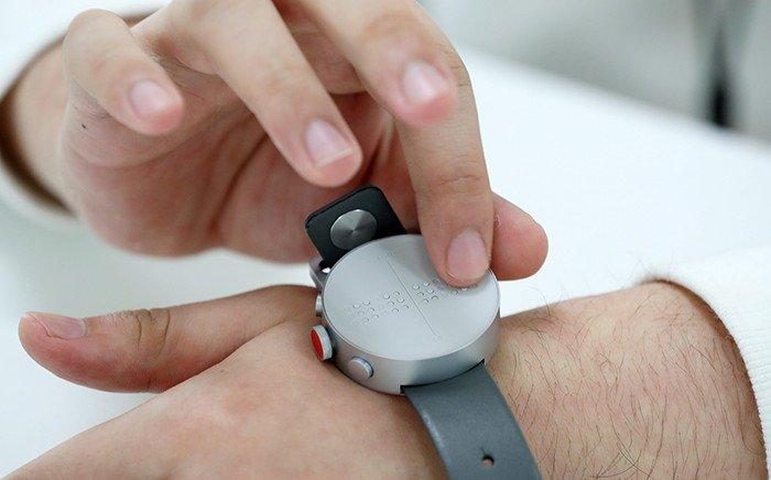 World eyes 1st-ever braille smartwatch