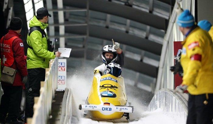 German men grab bobsled gold in Pyeongchang