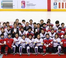'Peace and Sports' for PyeongChang takes flight