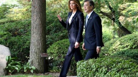 Korea, US share common goals on N. Korea: president