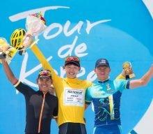 Korean cyclist wins international race