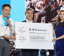 President vows successful 2018 Winter Games