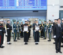 Remains of independence fighters return home