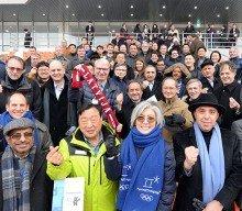 Diplomats visit PyeongChang venues
